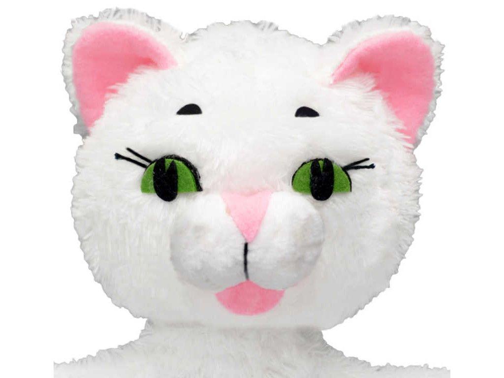 MORAVSKÁ ÚSTŘEDNA Maňásek s ťapkami Kočička bílá