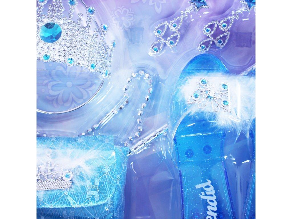 Sada princezna zimní království s kabelkou a střevíčky