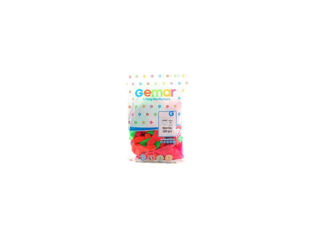 Balonky fluorescenční 100ks