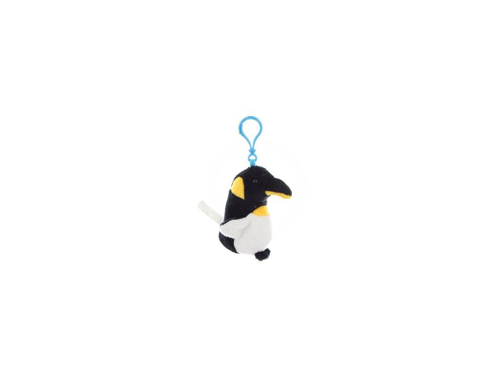 Plyš Tučňák klíčenka