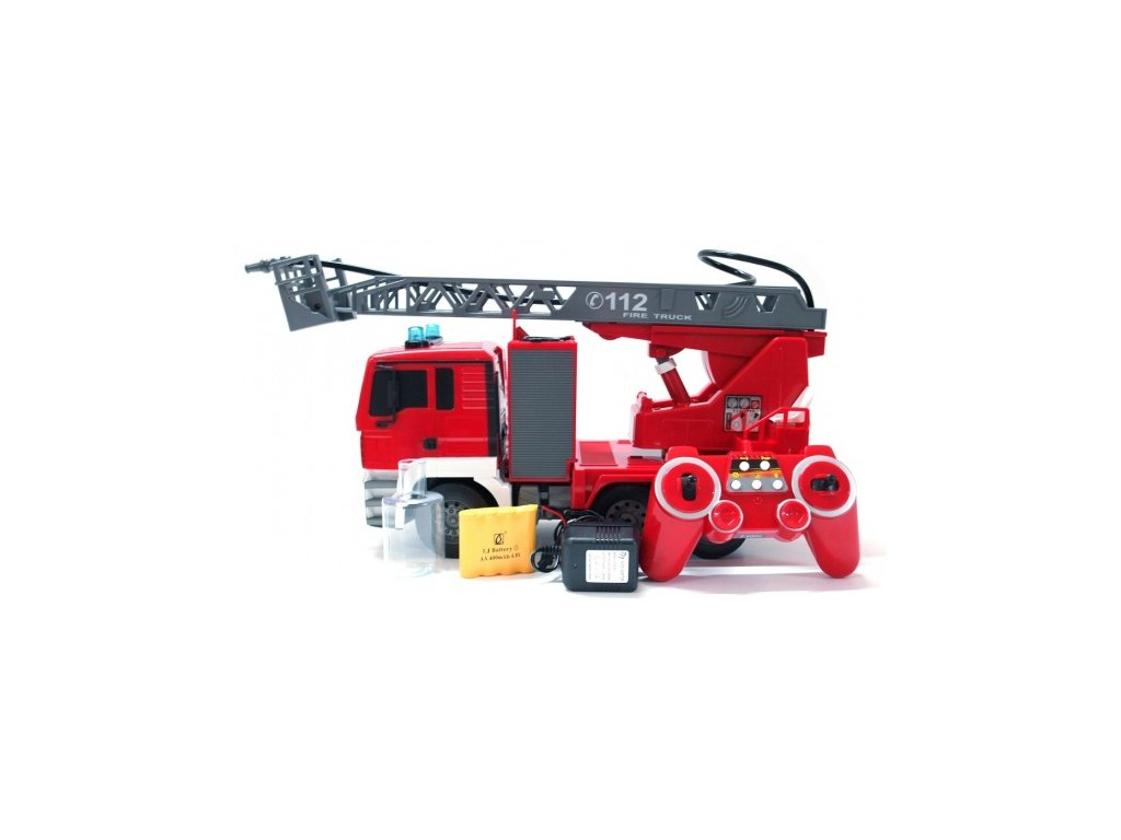 RC hasiči MAN s opravdovým vodním dělem 2.4GHz  + Nanopodložka, loupač, nebo desinfekce