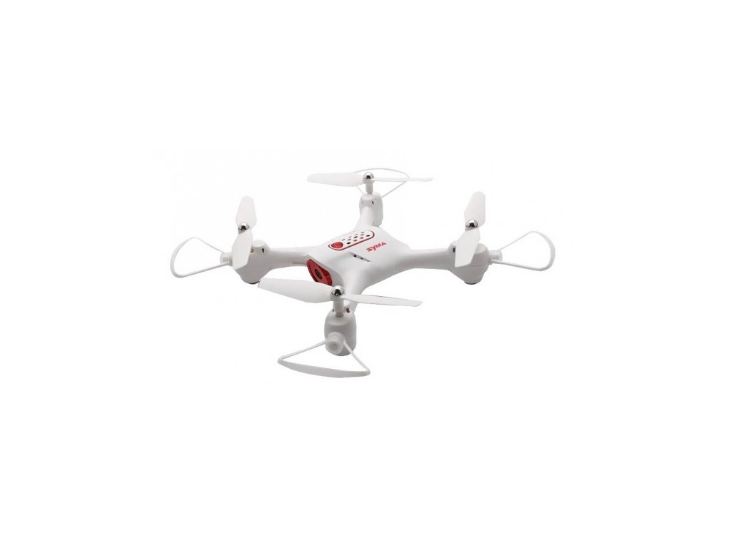 Syma X23 2.4GHz - Bílý dron pro začátečníky  + Nanopodložka, loupač, nebo desinfekce