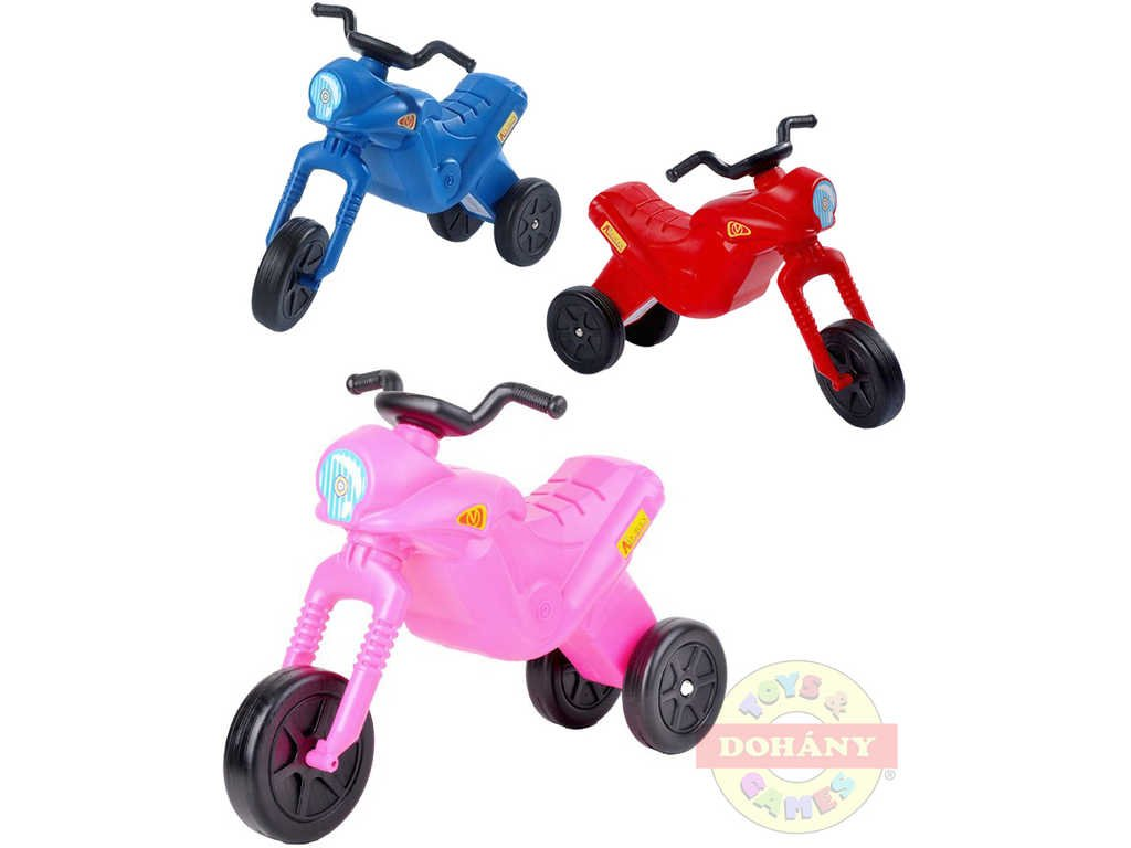 MAD Odrážedlo dětské odstrkovadlo ENDURO Klasik motorka plastová střední