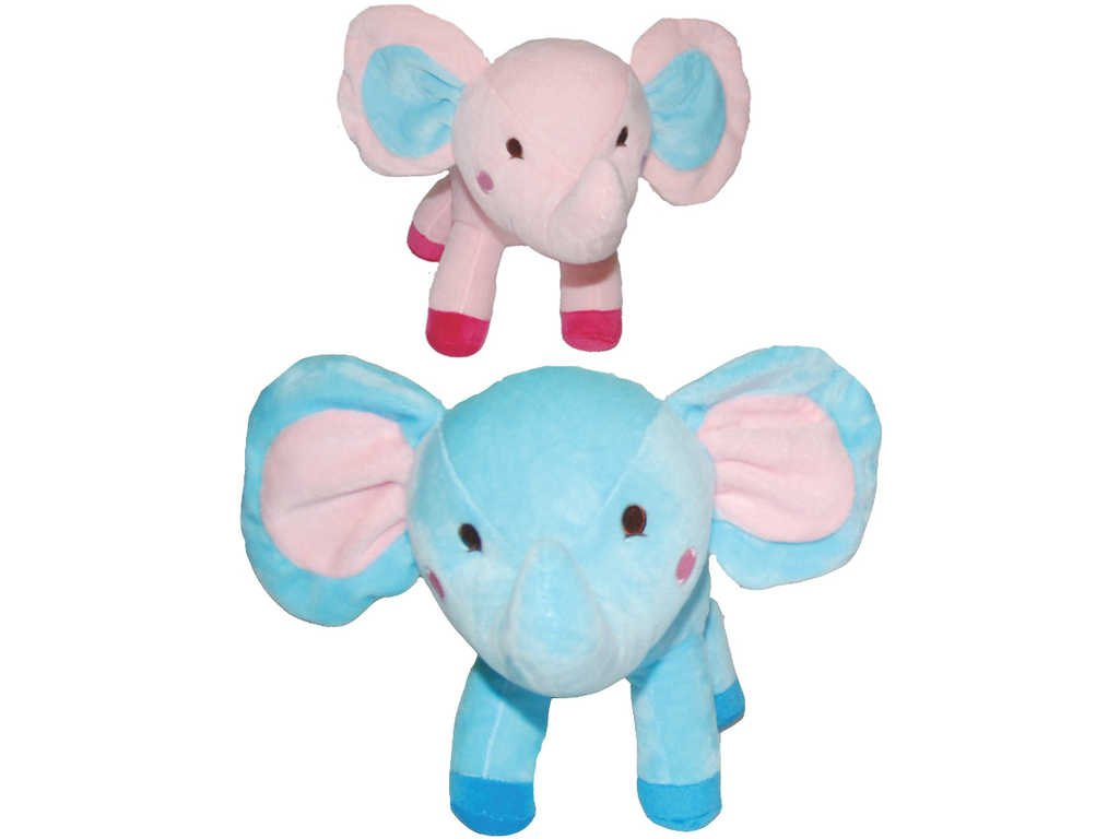 PLYŠ Baby slon 26cm 2 barvy *PLYŠOVÉ HRAČKY*