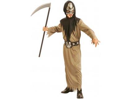 KARNEVAL Šaty Smrtka vel.S (110-120cm) 4-6 let KOSTÝM