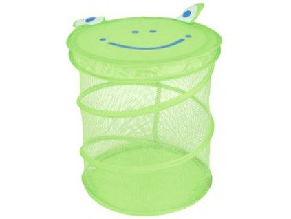 Koš skládací žába úložný box dětský na hračky