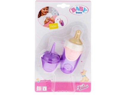 ZAPF Baby Annabell Kojenecká lahvička s víčkem pro panenku miminko různé barvy