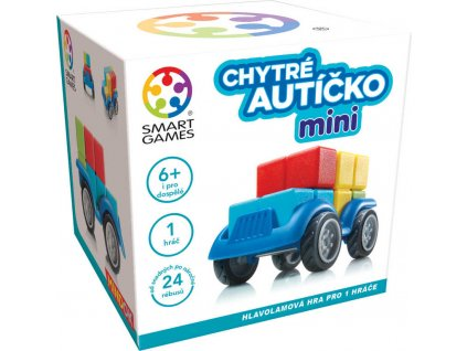 MINDOK HRA SMART Chytré autíčko mini 3D hlavolam skládačka plast