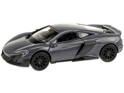 WELLY Auto model 1:34 McLaren coupe 675LT kov 12cm volný chod 4 barvy