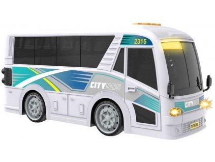Teamsterz městský autobus MHD na baterie Světlo Zvuk