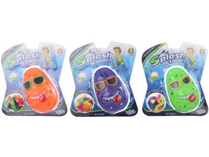 HRA Vodní časovaná bomba klaun set s balonky na vodu 50ks různé barvy