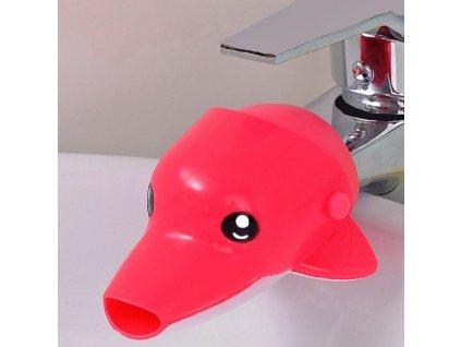 Dětský nástavec na kohoutek - delfín