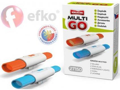 EFKO IGRÁČEK MultiGO 2 majáky doplňky v krabičce