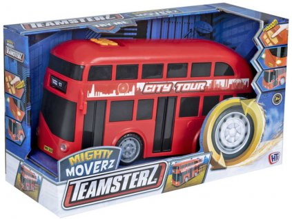 Teamsterz Double Decker městský autobus patrový plastový v krabici