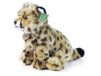 PLYŠ Gepard sedící 25cm Eco-Friendly *PLYŠOVÉ HRAČKY*