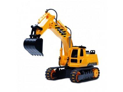 BAGR Excavator 1:26 - na dálkové ovládání  + Nanopodložka, loupač, nebo desinfekce