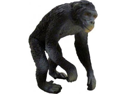 Šimpanz 6cm zvířátko Safari ručně malované plastové