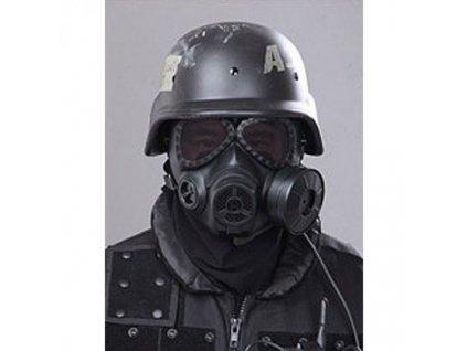 Válečná plynová maska  + Nanopodložka, loupač, nebo desinfekce