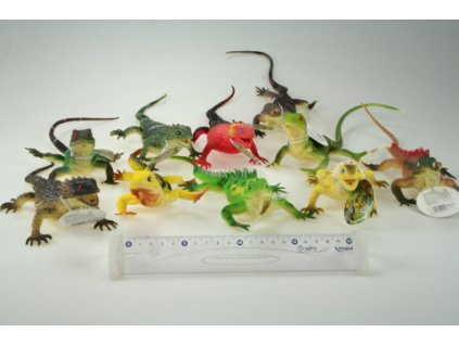 Ještěrky 24ks/krab 36cm