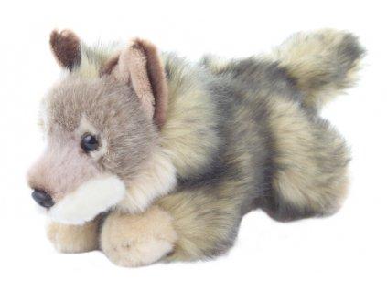 Plyš Kojot ležící 20 cm