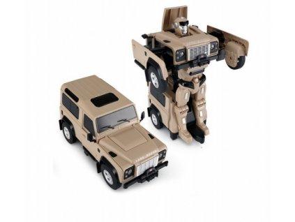 Land Rover Transformer 1:14 - žlutý  + Nanopodložka, loupač, nebo desinfekce