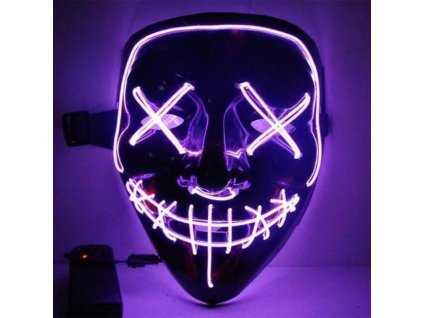 Maska se světelným efektem - The Purge