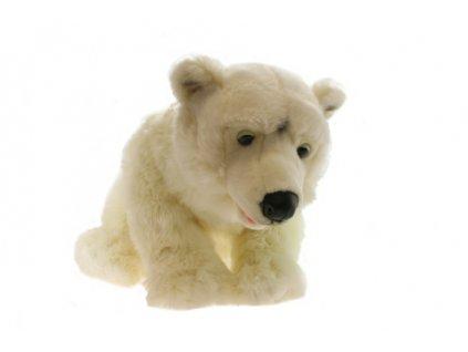 Plyš Lední medvěd 70 cm  + Nanopodložka, propiska, nebo desinfekce