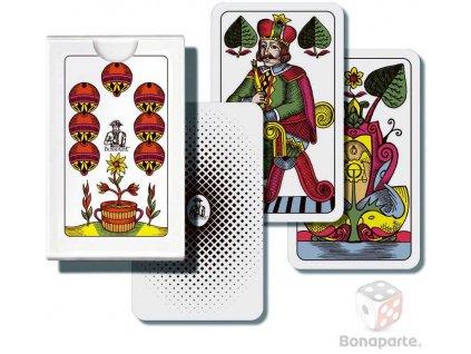 BONAPARTE Hra karetní Mariáš jednohlavý 32 listů v papírové krabičce