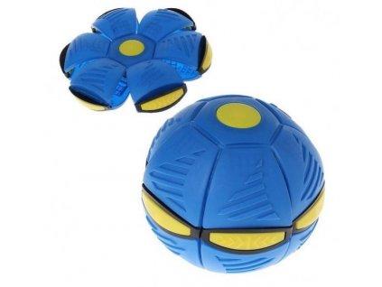 Flat Ball - placatý míč (Modrý)