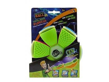 Flat Ball - placatý míč (Zelený)