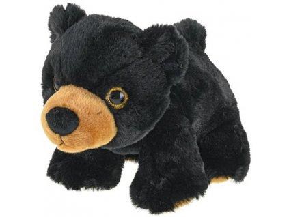 PLYŠ Medvěd černý 20cm v sáčku *PLYŠOVÉ HRAČKY*