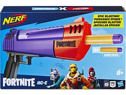 HASBRO NERF Fortnite HC E set blaster + 3 mega šipky plast
