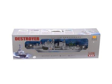 Ruský torpédoborec Sovremennyj Destroyer 956A 1/275  + Nanopodložka, propiska, nebo desinfekce
