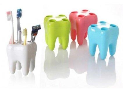 Zubní držák kartáčků