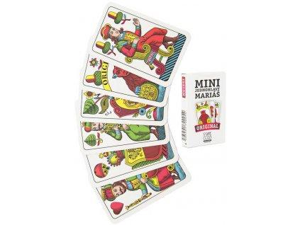 Karty Mariáš Mini jednohlavý 32 listů papírová krabička *SPOLEČENSKÉ HRY*