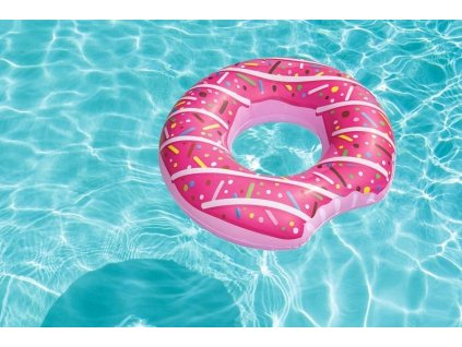Nafukovací kruh Donut - light verze (Růžová)