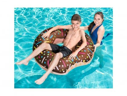 Nafukovací kruh Donut - light verze (Čokoládová)