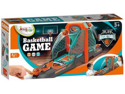 Hra basketbal stolní plastový set se 6 míčky *SPOLEČENSKÉ HRY*