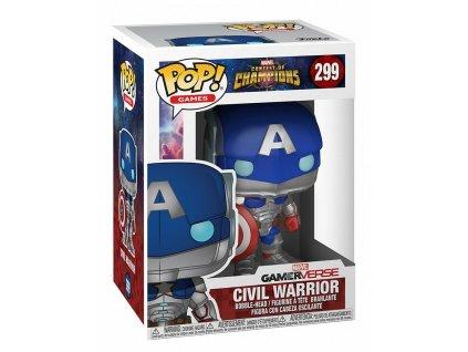 POP! Vinyl Games: Marvel Contest of Champions: Civil Warrior