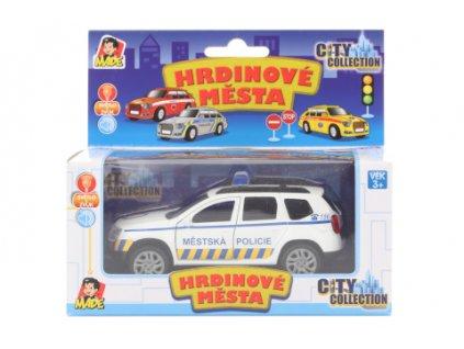 Městská policie se světlem a zvukem