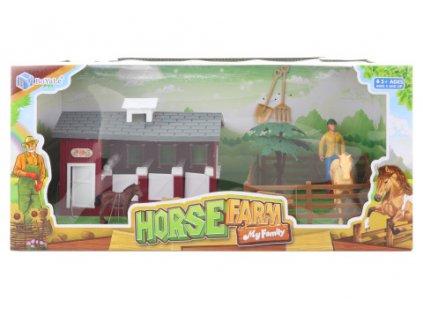 Stáj pro koně s doplňky