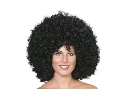 Afro paruka (Černá)