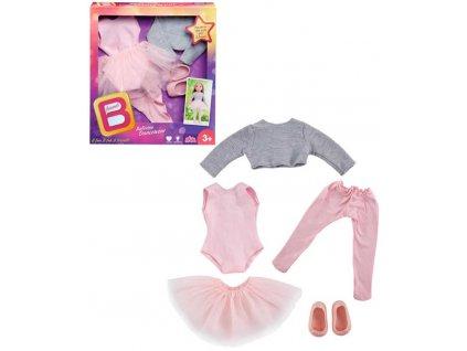 B Friends šaty taneční set obleček pro panenku 45cm balerina