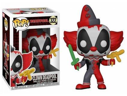 POP! Bobble Marvel: Deadpool Playtime: Deadpool Clown