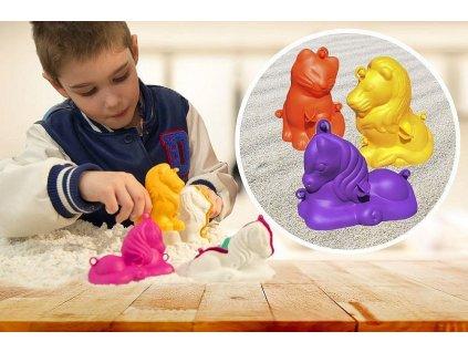3D formičky malé - mix zvířátek