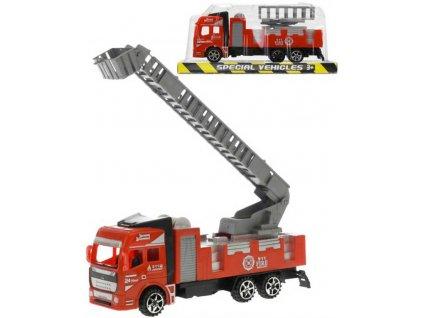 Auto požární 17cm hasiči na setrvačník různé druhy plast