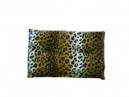 Polštář s gepardím vzorem - 60x40 cm