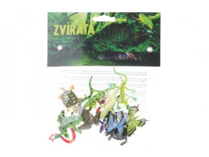 Zvířátka z pralesa 12 ks v sáčku