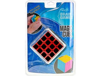 Hra kostka (Rubikova) hlavolam skládačka 6cm plast