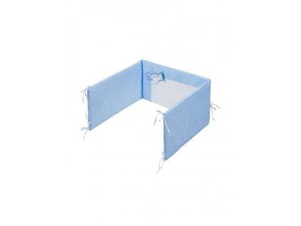 5-dílné ložní povlečení Belisima Letadla 100/135 - modrá  + Nanopodložka, loupač, nebo desinfekce